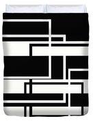 Black And White Art - 151 Duvet Cover