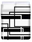 Black And White Art - 152 Duvet Cover