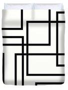 Black And White Art - 156 Duvet Cover
