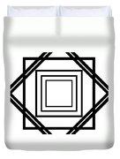 Black And White Art 175 Duvet Cover