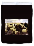 Black And White Chocolate Duvet Cover