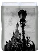 Black And White Fairy Tale Duvet Cover