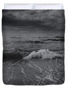 Black And White Ocean Wave 2014 Duvet Cover