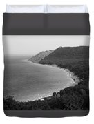Black And White Sleeping Bear Dunes Duvet Cover