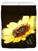 Black And Yellow Bee Beauty Duvet Cover