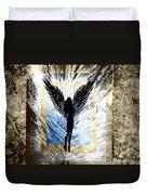 Black Angel Duvet Cover