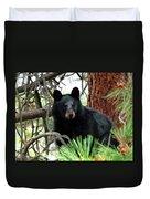 Black Bear 1 Duvet Cover