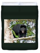 Black Bear 2 Duvet Cover