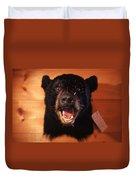 Black Bear Head Duvet Cover