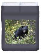 Black Bear II Duvet Cover