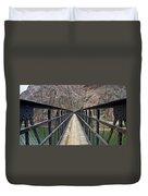 Black Bridge Duvet Cover