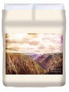 Black Canyon Colorado Duvet Cover