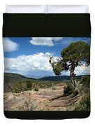 Black Canyon Juniper Duvet Cover