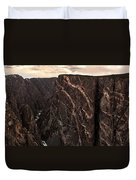 Black Canyon National Park In Colorado Duvet Cover