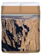 Black Canyon Pinnacles Duvet Cover