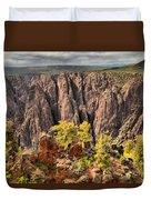 Black Canyon Spires Duvet Cover