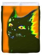 Black Cat 3 Duvet Cover