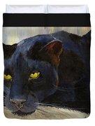 Black Cat Duvet Cover