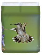 Black-chinned Hummingbird Duvet Cover