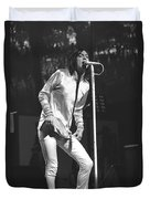 Black Crowes - Chris Robinson Duvet Cover