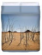 Black Desert Duvet Cover
