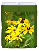 Black Eyed Susan 1 Duvet Cover by Marty Koch