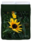 Black-eyed Susan Glows With Cheer Duvet Cover