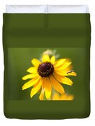 Black-eyed Susan With Friend Duvet Cover