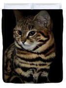 Black-footed Cat Duvet Cover
