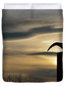 Black Headed Gull   Larus Ridibundus Duvet Cover