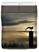 Black Headed Gull   Larus Ridibundus Duvet Cover