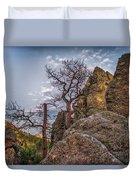 Black Hills Boulders Duvet Cover