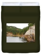 Black Hills Lake Duvet Cover