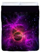 Black Hole In Space Duvet Cover