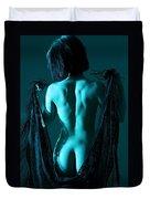 Black Lace Duvet Cover