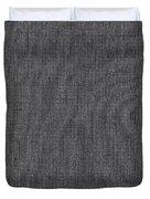 Black Linen Texture Duvet Cover