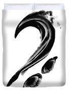 Black Magic 300 - Black And White Art Duvet Cover