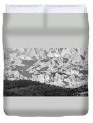 Black Mountains Of Arizona Duvet Cover