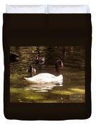Black-necked Swan Duvet Cover