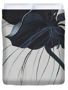 Black Orchid Duvet Cover