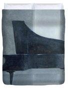 Black Piano 2004 Duvet Cover