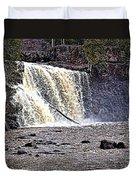 Black River Falls Duvet Cover