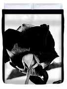 Black Rose Duvet Cover
