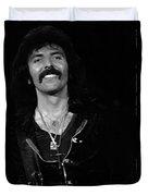 Black Sabbath #46 Enhanced Bw Duvet Cover