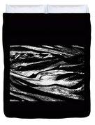 Black Sand  Duvet Cover