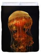 Black Sea Nettle Duvet Cover