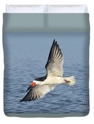Black Skimmer Duvet Cover