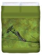 Black Swallowtail Caterpillar Duvet Cover