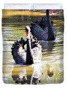 Black Swan 1 Duvet Cover