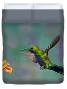 Black-throated Brilliant Duvet Cover